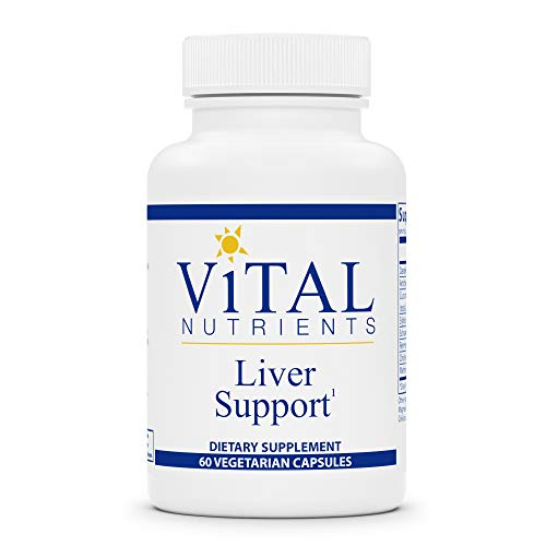 Vital Nutrients - Liver Support - Herbal Combination to Support Healthy Liver Function - 60 Vegetarian Capsules per Bottle