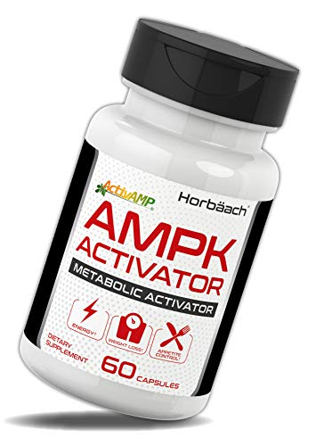 Horbaach AMPK Metabolic Activator 450 mg (60 Capsules) | Supports Weight Management | Non-GMO, Gluten Free | Jiaogulan Gynostemma