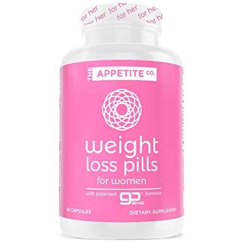Weight Loss Pills for Women - Appetite Suppressant for Weight Loss for Women - Keto Pills - GoBHB Patented Formula - Diet Pills That Work - 60 Capsules