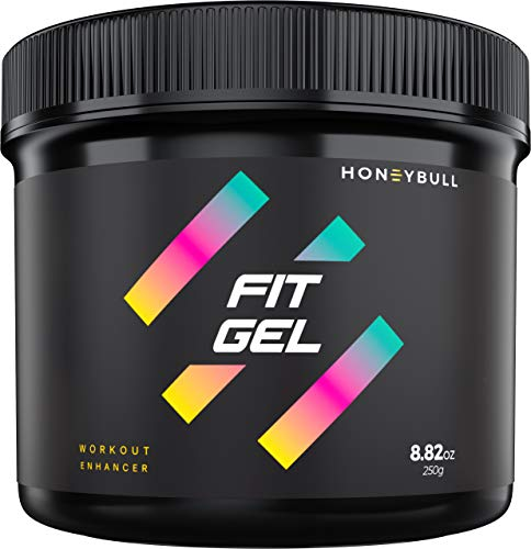 HoneyBull Fit Gel (8.8 oz) Workout Enhancer to Sweat More at Gym & Cardio