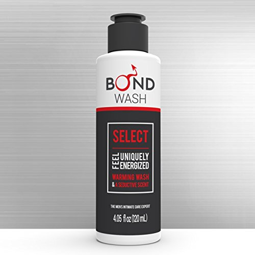 BOND MEN'S INTIMATE WASH 4.05 Fl. Oz. (120mL) The Best Hygiene Care Products for Men. Confidence Booster & Good for Daily-use. (Select)