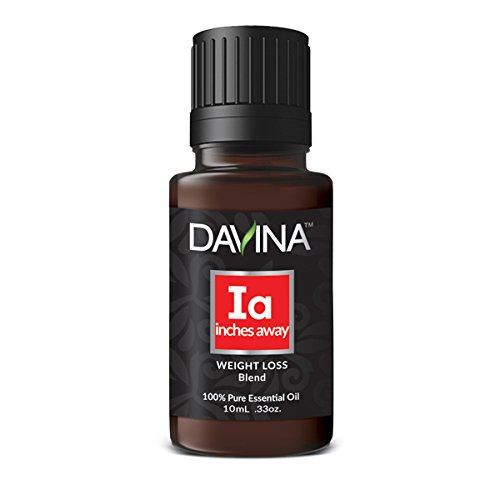 Inches Away Weight Loss Essential Oil Blend 10ml Therapeutic Grade by Davina