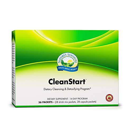 Nature's Sunshine CleanStart, Apple Cinnamon | 14 Day Full Body Detox Supports Increased Energy, Weight Loss, and Detox