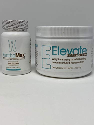 D.O.S.E. Elevate Smart Coffee and XanthoMax by Elevacity