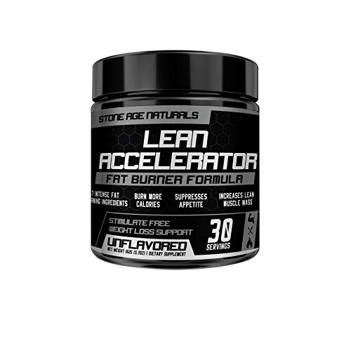 Lean Accelerator - Extremely Powerful! The First Muscle-Toning Fat Burner Thermogenic Weight Loss Supplement - Keto Friendly, Appetite Suppressant - Men and Women - Protein & Pre-Workout ENHANCER