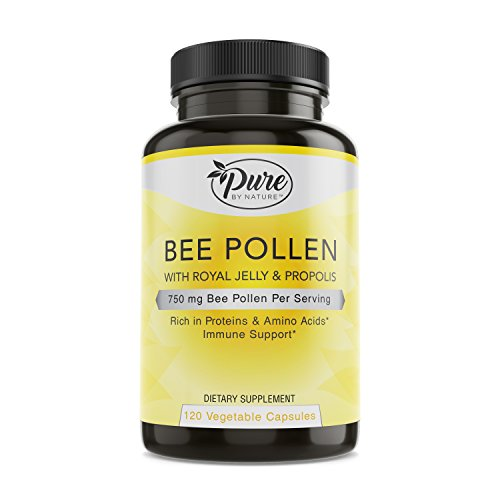 Pure By Nature Bee Pollen, 120 Count