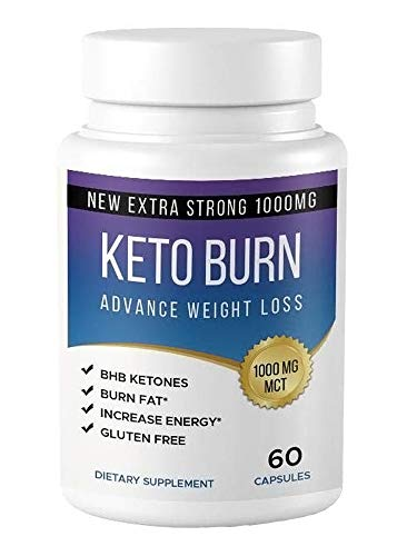 Keto Burn Keto Pills - Ketogenic Fat Burner - for Women & Men - Promotes Healthy Energy Levels - Burn Belly Fat Fast - Carb Blocker - Keto Burn (1)