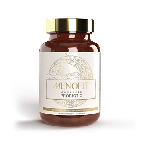 MenoLabs - MenoFit Dietary Supplement for Menopause Relief That Helps with Weight Management & Supports Symptoms Including Hot Flashes, Low Metabolism, Gut Health & More