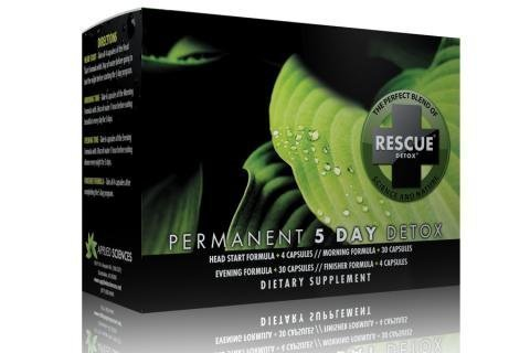 Rescue Detox Permanent 5 Day Detox by Applied Sciences by Applied Sciences