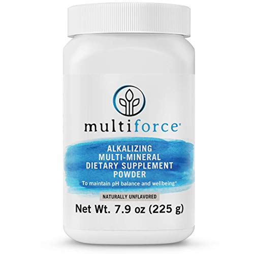 Multiforce Alkalizing Multimineral Supplement for Healthy pH Balance and Reduced Acidity