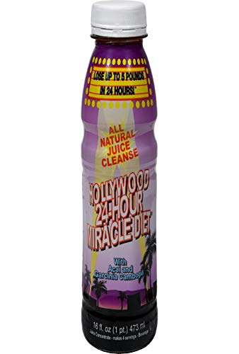 Hollywood 24 Hour Miracle Diet w/ Acai and Garcinia Cambogia 15.2 Ounces