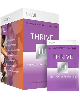 Thrive Level Women's CAPSULES-30 Packets / 2 Capsules Per Packet