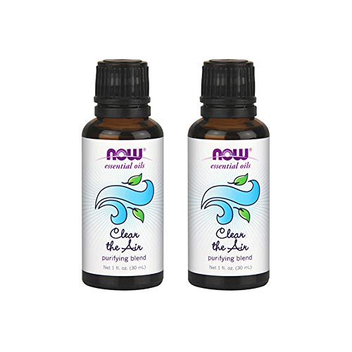 Now Foods Clear The Air Purifying Blend 1 fl oz Oil (Pack of 2)