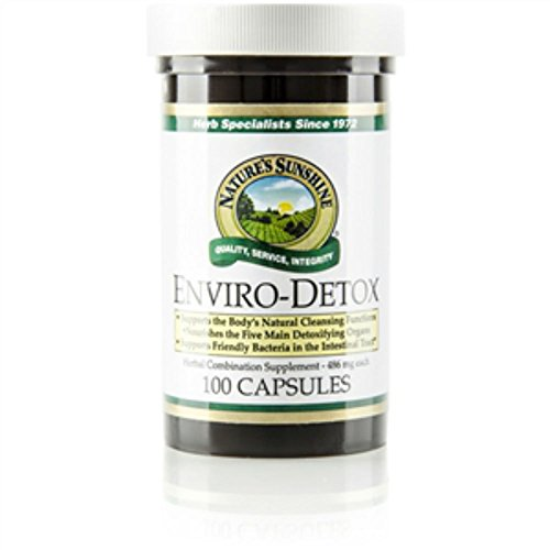ENVIRO-DETOX (IMPROVED) Herbal Combination Supplement (Pack of 2) 100 Capsules each 'FAST SHIPPING'