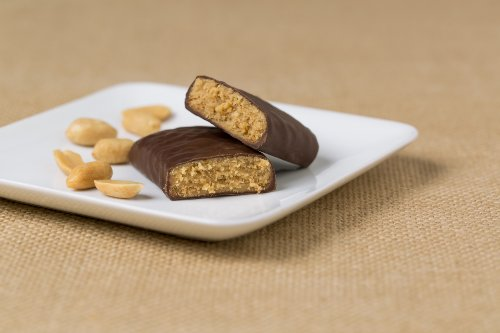 Peanut Butter Bar with Chocolate Bar - Nutrition Bars Weight Loss & Healthy Living