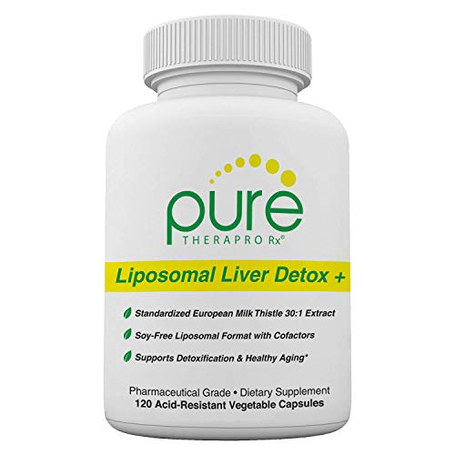 Liposomal Liver Detox + 120 Acid-Resistant VCaps | Soy-Free Liposomal Format Containing Methylation Nutrient Cofactors | Supports Liver Detox and Cleansing | Vegan