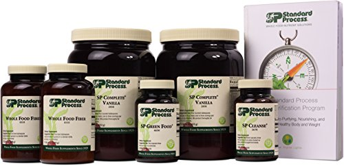 Standard Process - Purification Kit with SP Complete Vanilla and Whole Food Fiber
