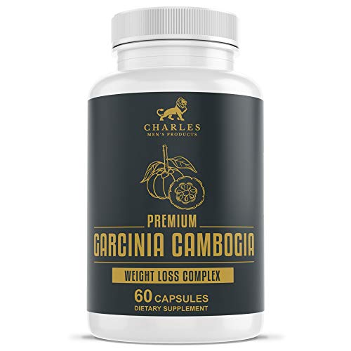 Garcinia Cambogia Capsules by Charles | Supplement Containing 700mg Garcinia Cambogia 95% HCA | Helps Prevent Fat Storage, Boost Mood, and Suppress Appetite | Appetite Suppressant May Aid Weight Loss