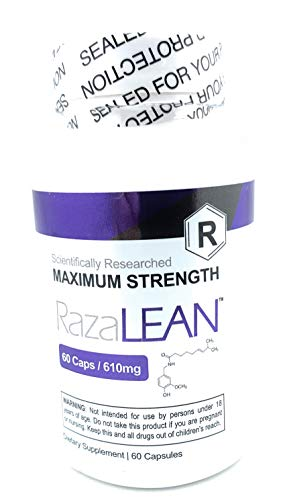 RazaLEAN Maximum Strength (Scientifically Researched) 60 Cap 610mg