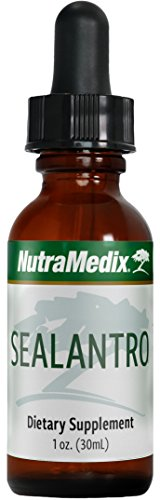 NutraMedix Chlorella, Cilantro & Red Seaweed Drops - Sealantro, Liquid Detox & Cleanse Support Herbs, Immune Support Supplement (1oz / 30ml)