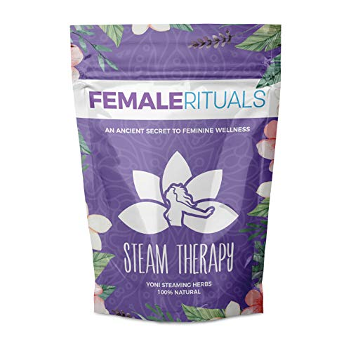 Female Rituals Steam Therapy (8 Ounce) Yoni Steaming Herbs Natural Yoni Steam Detox V Steam Cleanse