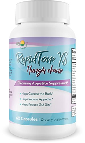 Rapid Tone XS - Hunger Cleanse - Suppress Appetite - Detox and Cleanse - Detox Cleanse Weight Loss