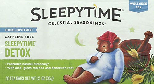 CELESTIAL SEASONINGS Sleepytime Detox Tea, 20 CT