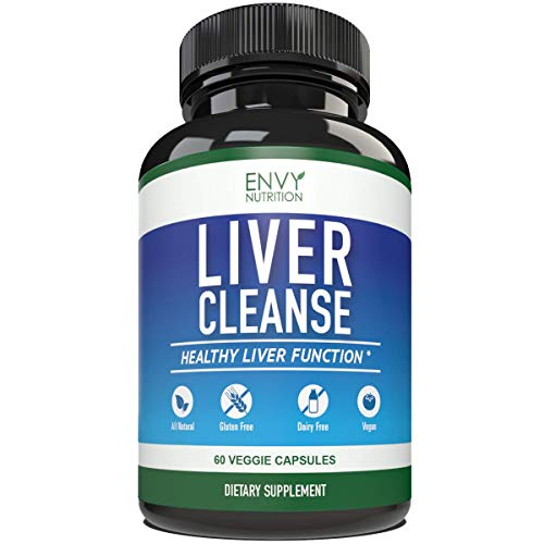 Liver Cleanse & Detox Supplement Formula - Milk Thistle Extracts Silymarin, Beet, Artichoke, Dandelion, Chicory for Enhanced Liver Support and Health