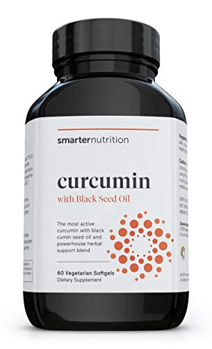 Smarter Turmeric Curcumin - Potency and Absorption in a SoftGel - The Most Active Form of Curcuminoid Found in the Turmeric Root - 95% Tetra-Hydro Curcuminoids (30 Servings) (Packaging May Vary)
