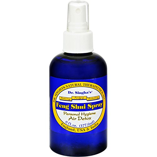 New - Dr. Singha's Feng Shui Spray - Air Detox - 6 fl oz