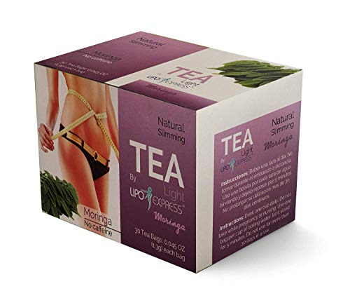Weight Loss Tea Detox Tea Lipo Express Body Cleanse, Reduce Bloating, Appetite Suppressant, 30 Day Tea-tox, with Potent Traditional 100% Naturals Herbs. Energy Booster. (Moringa Tea)