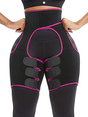 Work Out Thigh Shaper Thigh Trimmers for Weight Loss Neoprene Sweat Bands for Women and Men