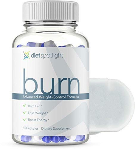 Burn TS Advanced Weight Loss Formula - Metabolism & Energy Booster, Appetite Suppressant & Effective Natural Thermogenic Supplement (1 Bottle and Daily Dose Case)