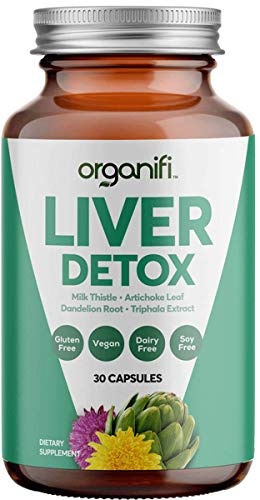 Organifi: Liver Detox - Herbal Liver Detox and Support - 30 Day Supply - Optimal Hormone Balance - Increase Energy and Promote Healthy Metabolism - Naturally Cleanse Toxins - Immunity Support