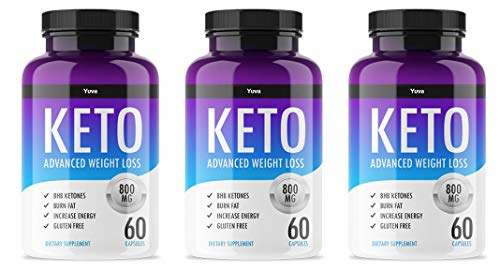 QFL Yuva/QFL Keto Diet Pills-exogenous ketones - Utilize Fat for Energy with Ketosis - Boost Energy & Focus, Manage Cravings, Support Metabolism - Keto BHB Supplement for Women and Men - 90 Day Supply