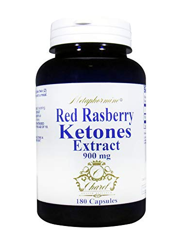 Metaphormine Raspberry Ketones Supplement 900mg - Promotes All Natural Weight Loss and Appetite Suppressant - 180 Capsules, 90 Day Supply
