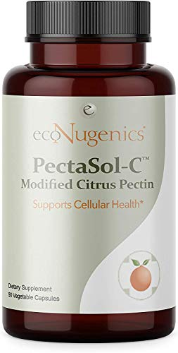 EcoNugenics - PectaSol-C Modified Citrus Pectin - 90 Capsules - Cellular Health & Immune System Supplement - Maintain Healthy Galectin-3 Levels - Cardiovascular Support