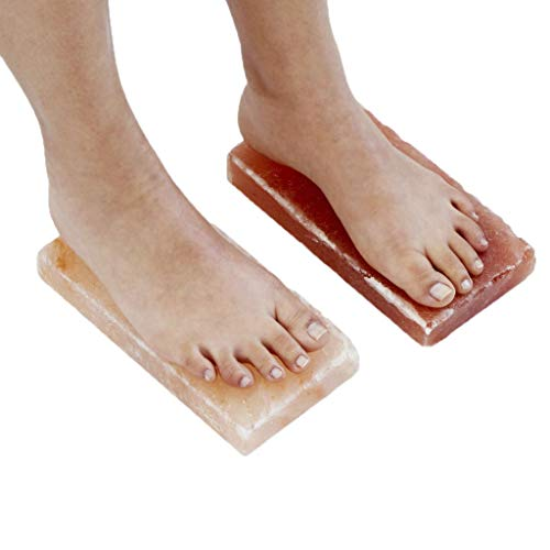 New Himalayan Salt Block Detox for Foot (Set of Two) (Size 8' x 4' x 2') with Instructions