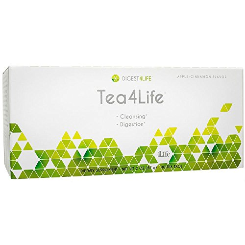 Tea4Life Natural Cleansing & Detox Tea for Intestinal Maintenance