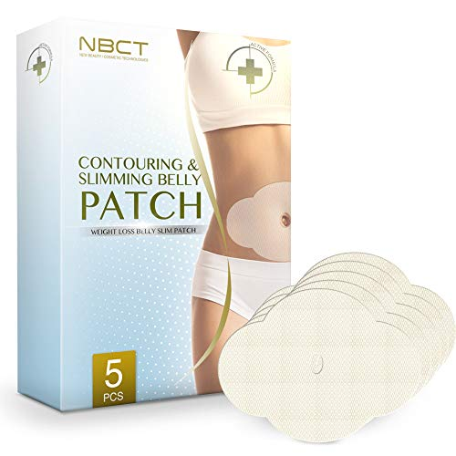 Belly Contouring Patch | Ultimate Body Wrap | All Natural | Works for Inch Loss Firming Contouring Shaping - 5 Body Wraps