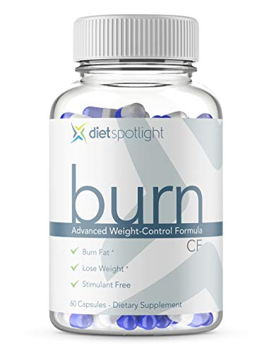 Burn TS Caffeine Free - Weight Loss Formula Metabolism & Energy Booster, Appetite Suppressant & Effective Thermogenic Supplement (1 Month Caffeine-Free)