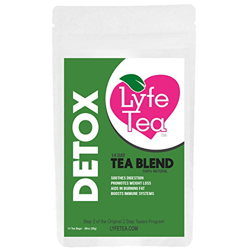 14 Day Detox Tea Only in Loose Leaf - Natural Cleanse Toxins, Soothes Digestion, Increases Energy, Boosts Metabolism, Helps Improve Health, Promotes Weight Loss