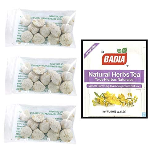 3 Pack Indian Nut 36 Seeds For Weight Loss AND FREE Natural Herbs Slimming Tea