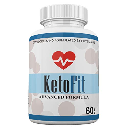 Keto Fit Advanced Formula - Ketosis Weight Loss Support - 60 Capsules - 1 Month Supply - KetoFIT
