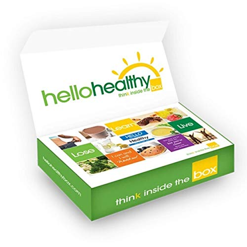 Hello Healthy Box 14-Day Kit for Weight Loss and Diet Control - Low Carb, Low Sugar, Protein Rich Grab 'n Go Single Servings Keto Meals (56 total)
