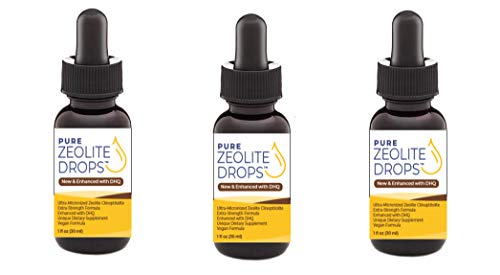Pure Zeolite Drops 3 Pack