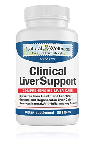 Liver Cleanse, Detox, Repair & Optimizer – 1,680mg of Total Liver Protection: Milk Thistle 10X Absorption, Turmeric 95% Curcumin, Beet, and More – Natural Wellness Clinical Liver Support