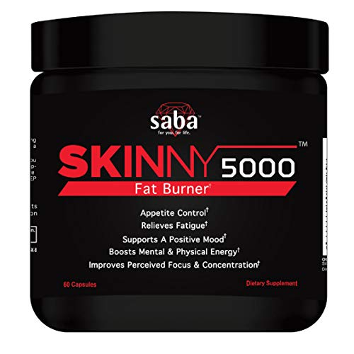 Saba Skinny 5000 -Fat Loss -Weight Loss-Appetite Control -Energy- Nootrpoic
