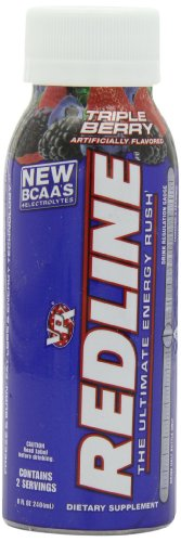 VPX Rtd's Redline, Triple  Berry, 8 fl oz,  24-Count