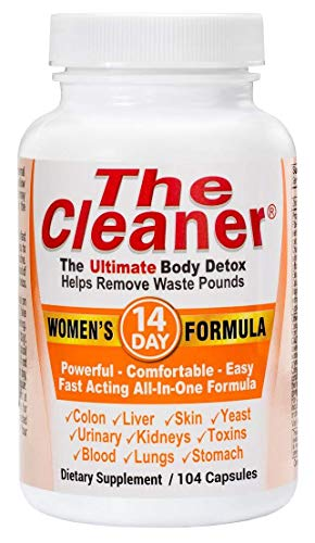 Century Systems The Cleaner - Women's Formula 104 Capsules by 14 Day Women's Formula (packaging may vary)